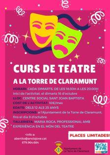 curs teatre 2018