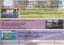 activitats piscina 2018