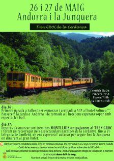 excursió tren groc 2018
