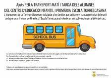 ajuts transport escolar
